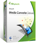 iSkysoft iMedia Converter Deluxe for Mac, Mac Video Converter - box