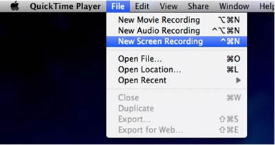 Record iPhone Screen on Mac - Quicktime