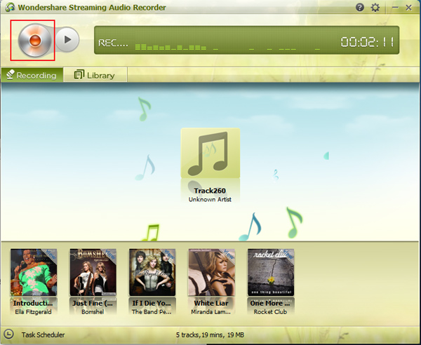 spotify to mp3 converter - main screenshot