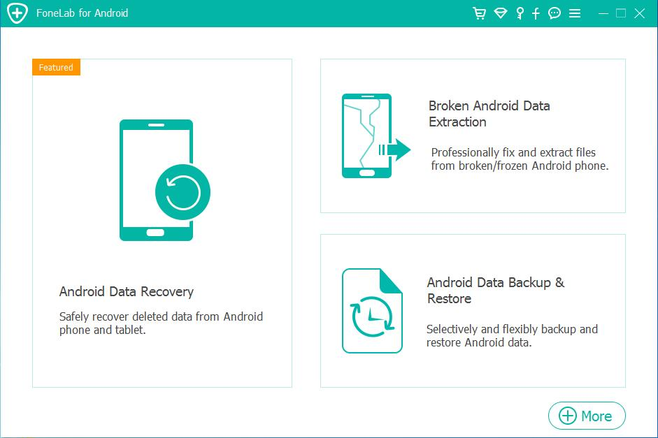 Samsung Galaxy Nexus messages Recovery – main screenshot