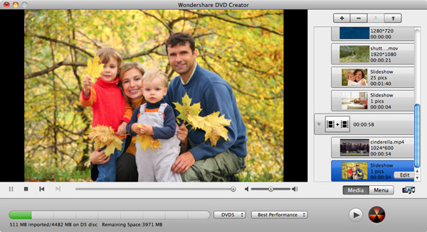 how to burn a DVD from iMovie - main screenshot