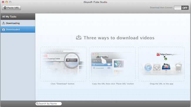 Tube8 Video Downloader - interface