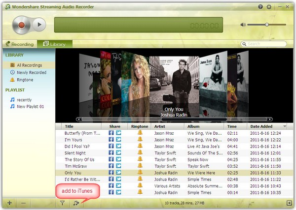 convert spotify playlist to mp3 - add to iTunes